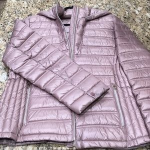 Calvin Klein lightweight packable down jacket